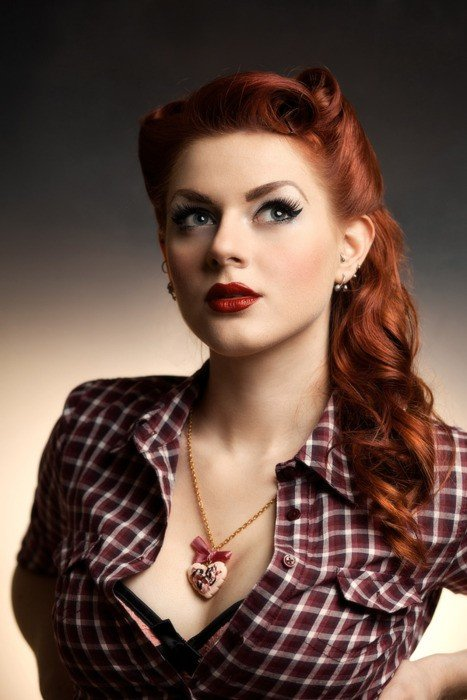 New The Stylista Pin Up Hair Lindsey Jones Ideas With Pictures