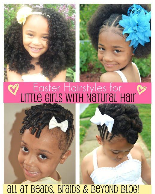 New Easter Hairstyles For Little Girls With Natural Hair Ideas With Pictures
