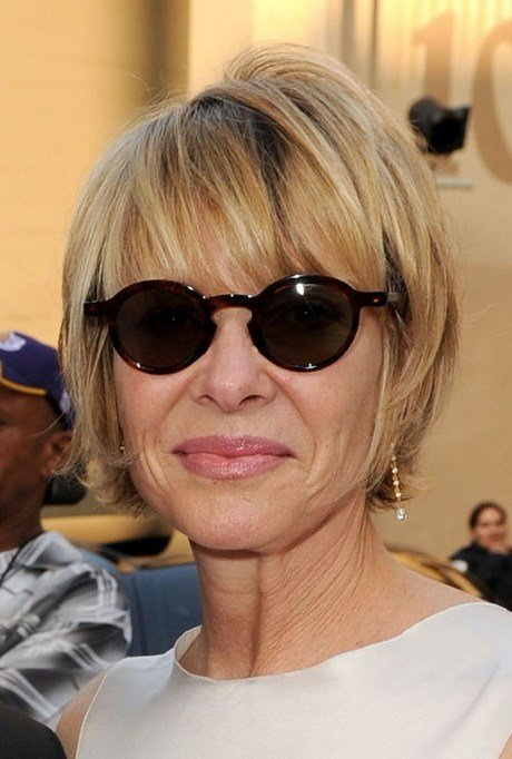 New Hairstyles For Women Over 50 With Glasses Ideas With Pictures