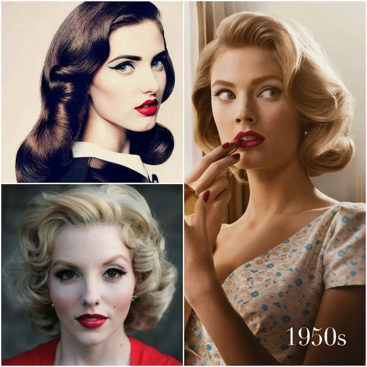 New Vintage Hairstyles That Match Your Vintage Dress Hair Ideas With Pictures