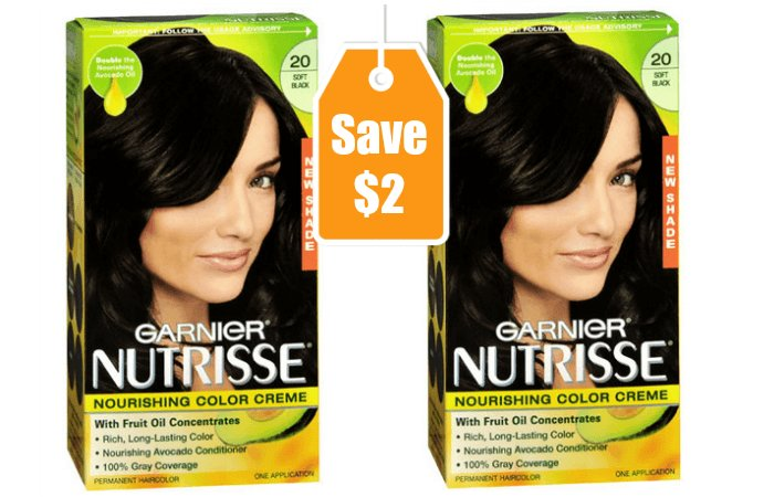 New 2 1 Garnier Nutrisse Hair Color Coupon Deals At Ideas With Pictures