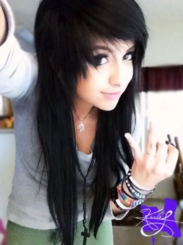 New Emo Hairstyles For Girls The Xerxes Ideas With Pictures