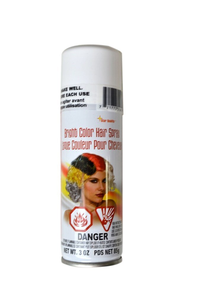 New Neon White Hair Spray 031414 Trendyhalloween Com Ideas With Pictures