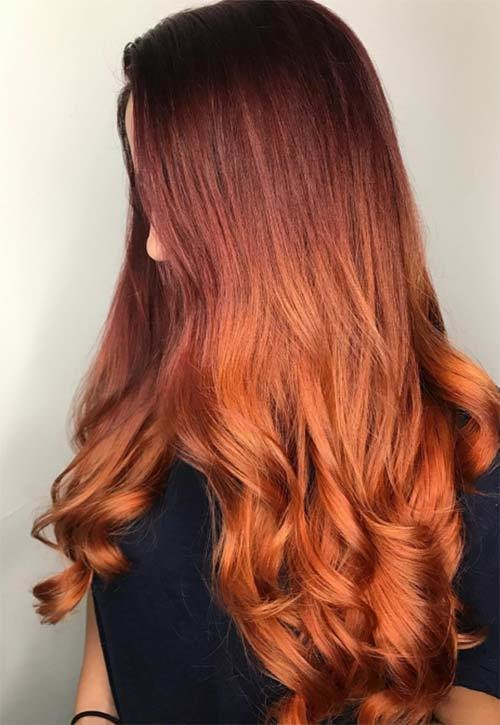 New 50 Copper Hair Color Shades To Swoon Over Fashionisers Ideas With Pictures