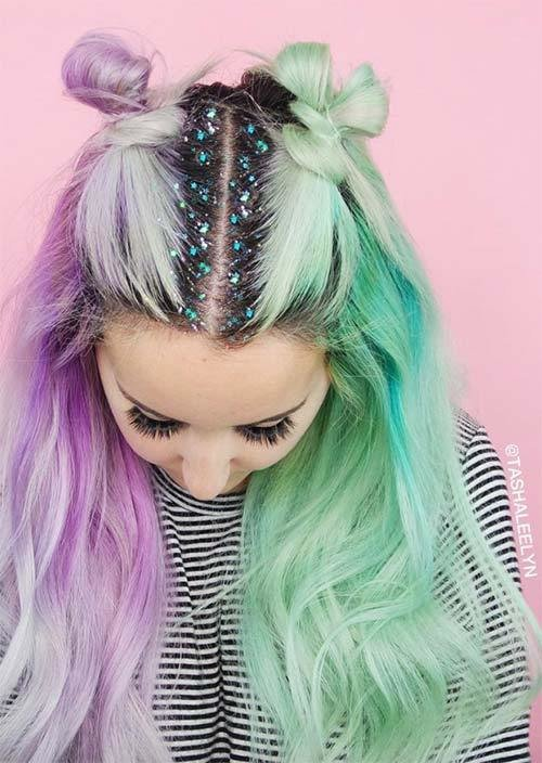 New 25 Gorgeous Glitter Hairstyles Perfect For Parties Ideas With Pictures