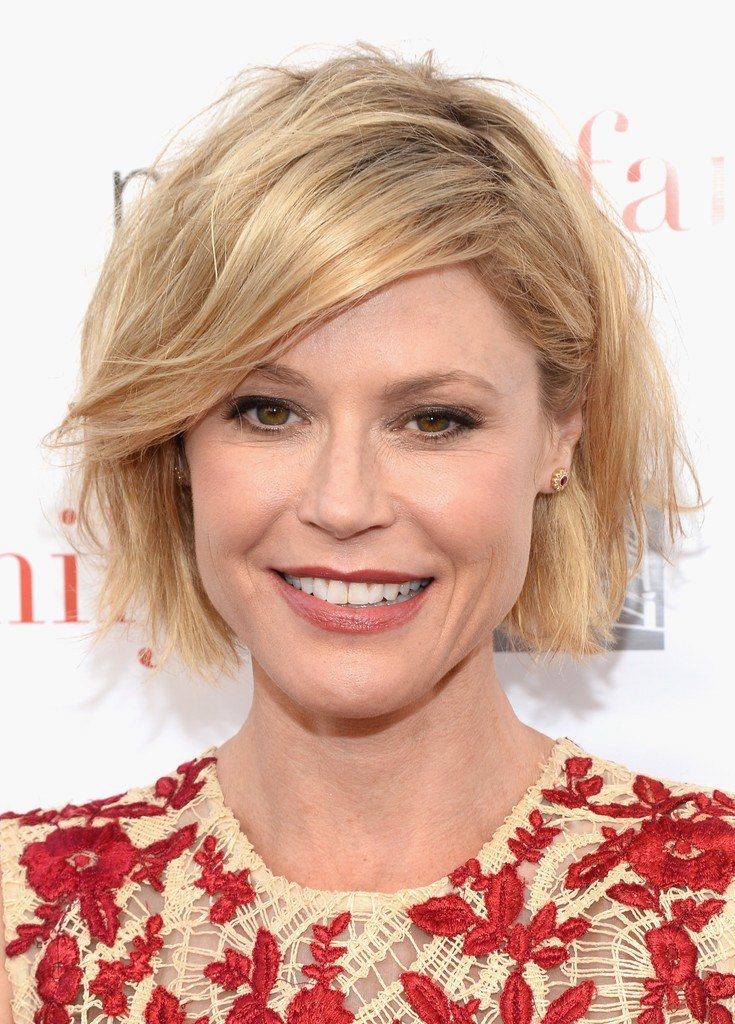 New Julie Bowen Messy Cut Julie Bowen Hair Looks Stylebistro Ideas With Pictures
