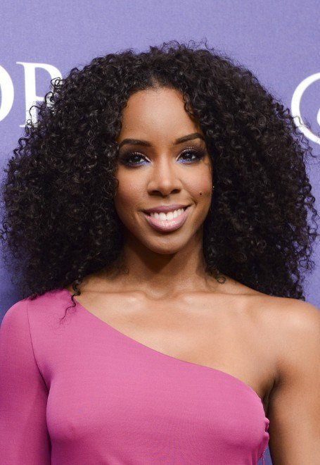 New Kelly Rowland Naturally Curly Hairstyle Black Curly Ideas With Pictures