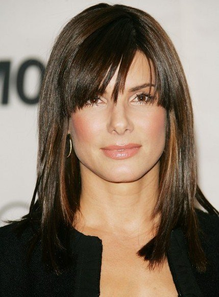 New Latest Popular Hairstyles With Cool Bangs Hairstyles Weekly Ideas With Pictures