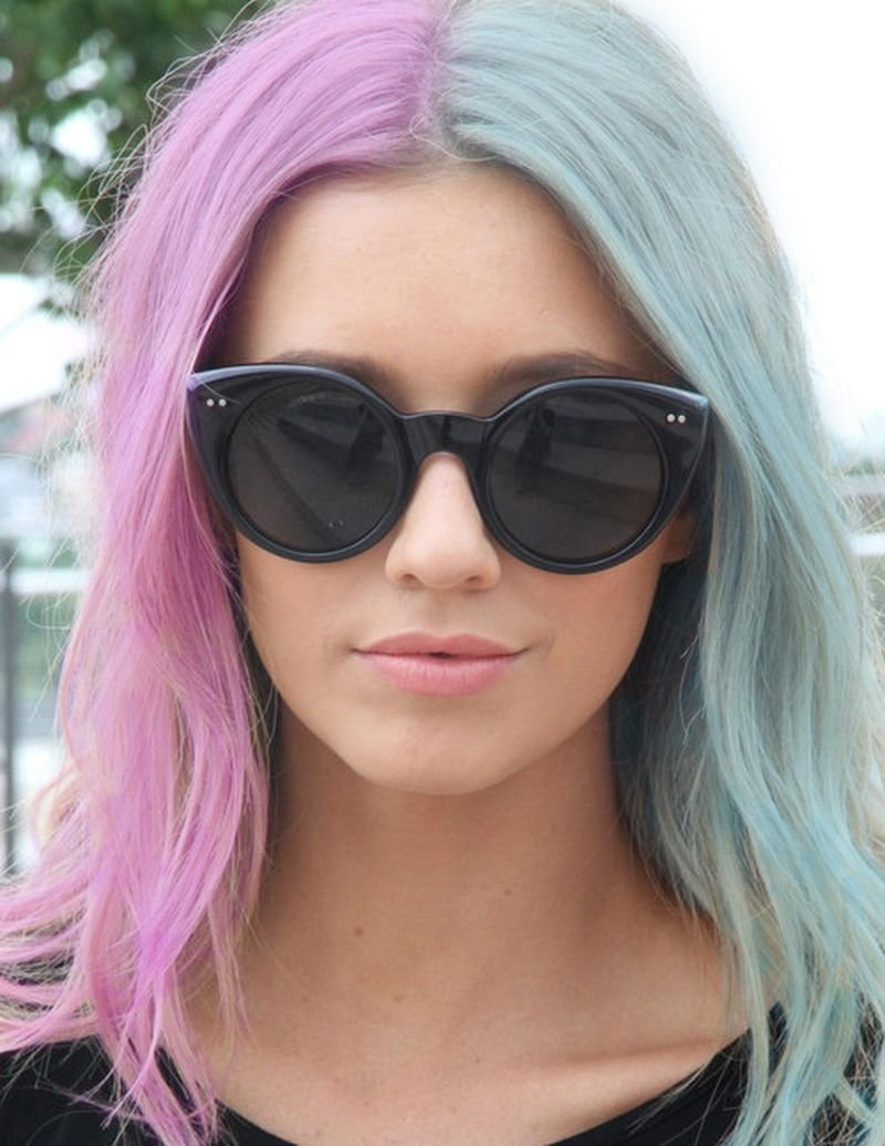 New 25 Amazing Two Tone Hair Styles Trendy Hair Color Ideas Ideas With Pictures