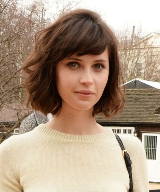 New 30 Chic Bob Hairstyles With Bangs Hairstyles Weekly Ideas With Pictures Original 1024 x 768