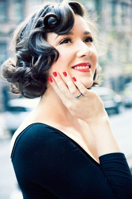 New Retro Pin Up Girl Waves 7 Amazing Styles For Curly Hair Ideas With Pictures