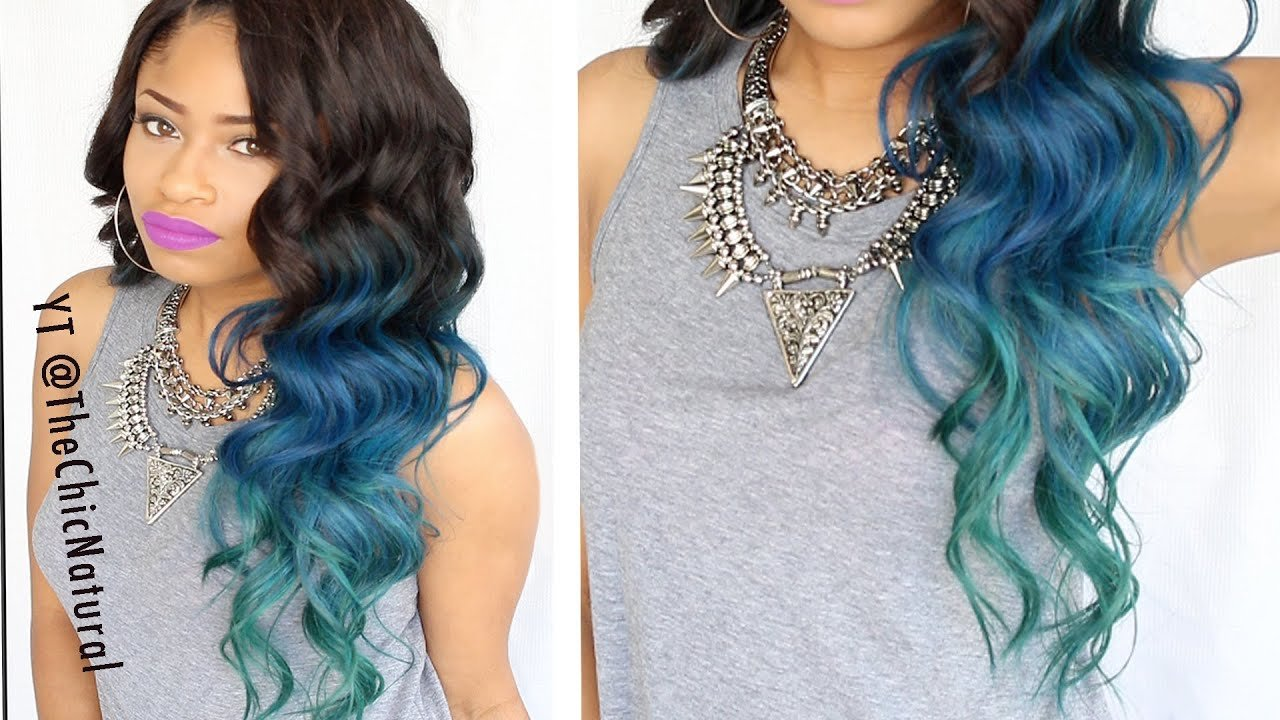 New How To Mermaid Hair Color Diy Youtube Ideas With Pictures