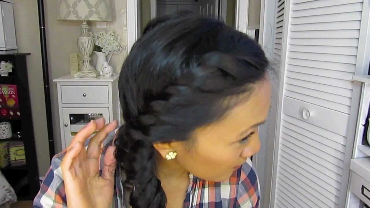 New A Cute Hair Style For Wet Hair Youtube Ideas With Pictures