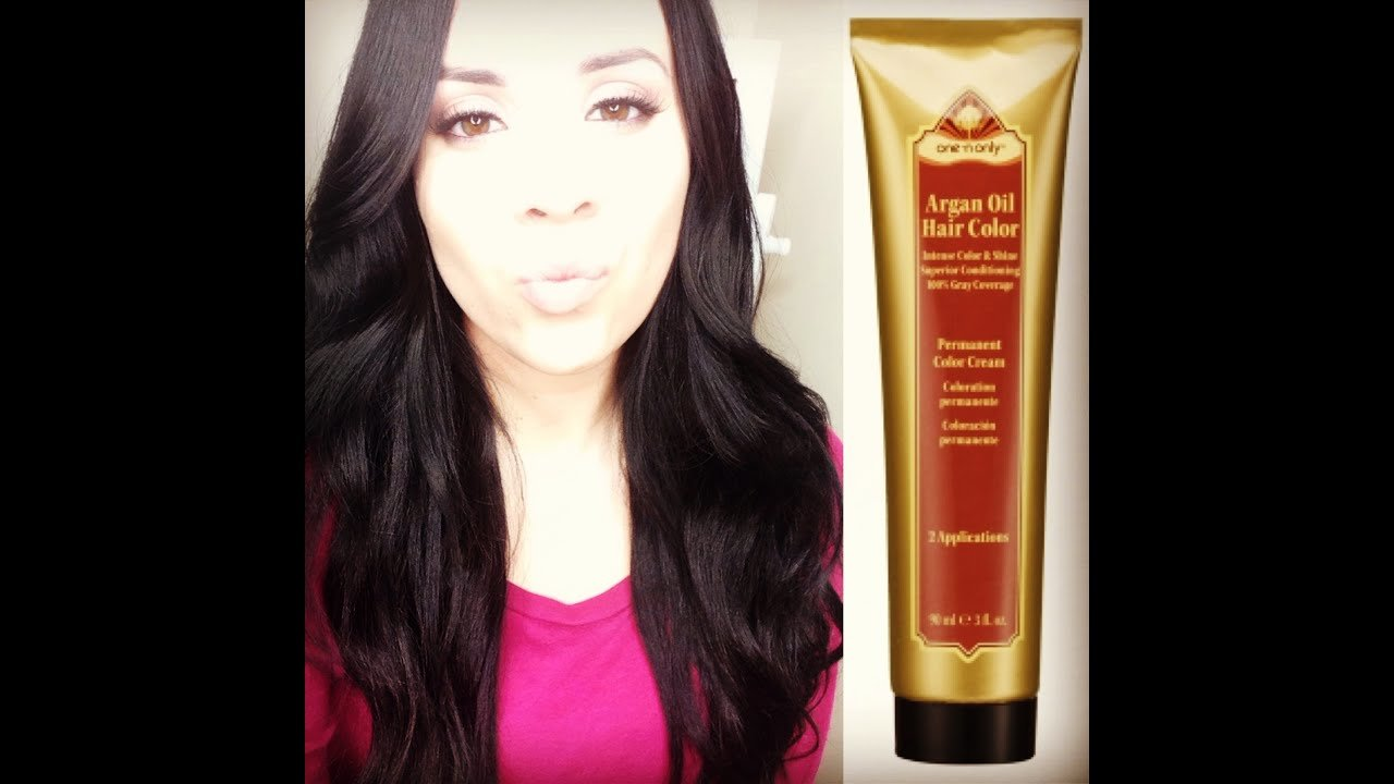 New One N Only Argan Oil Permanent Hair Color Review Youtube Ideas With Pictures