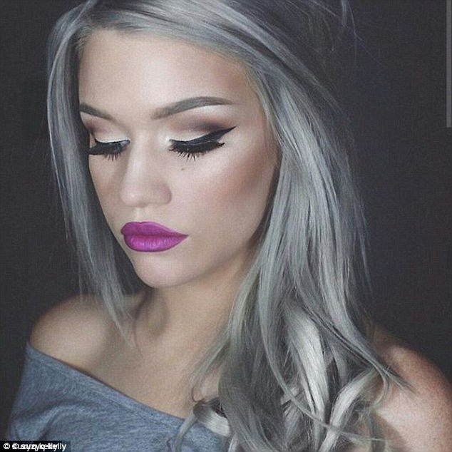 New Five Women Dye Their Hair Grey For Femail Daily Mail Online Ideas With Pictures