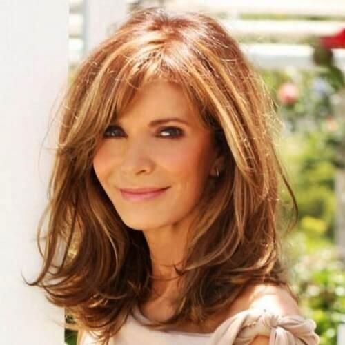 New 25 Gorgeous Medium Length Hairstyles For Women Over 50 Ideas With Pictures