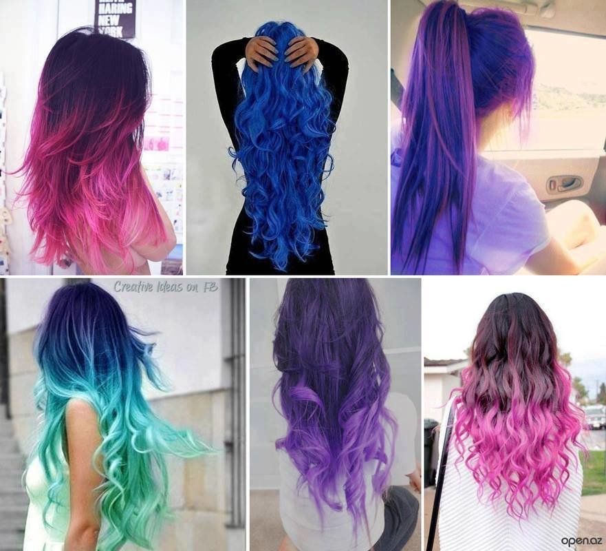 New Hairstyles » Different Hair Color Styles Ideas With Pictures