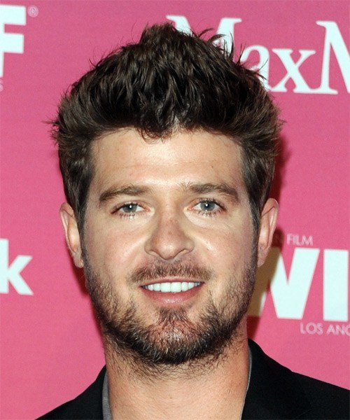 New Robin Thicke Hairstyles In 2018 Ideas With Pictures