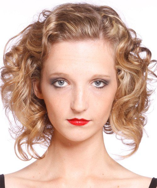 New Medium Curly Casual Hairstyle Ideas With Pictures