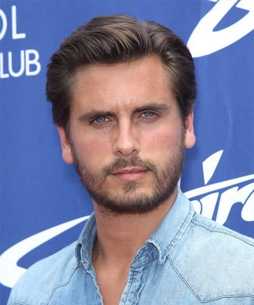 New Scott Disick Short Straight Formal Hairstyle Ideas With Pictures