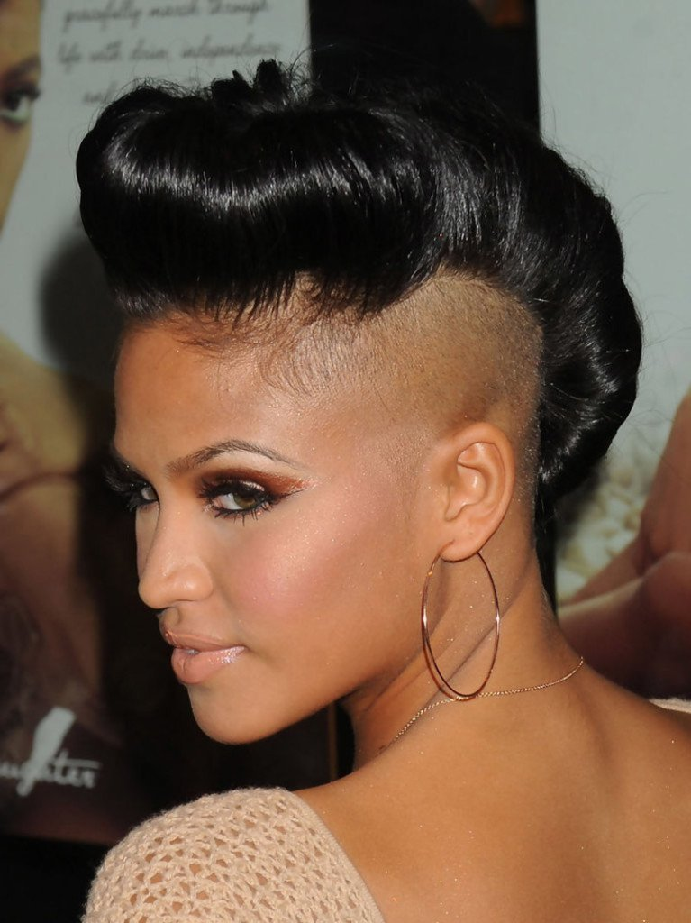 New 20 Badass Mohawk Hairstyles For Black Women Ideas With Pictures