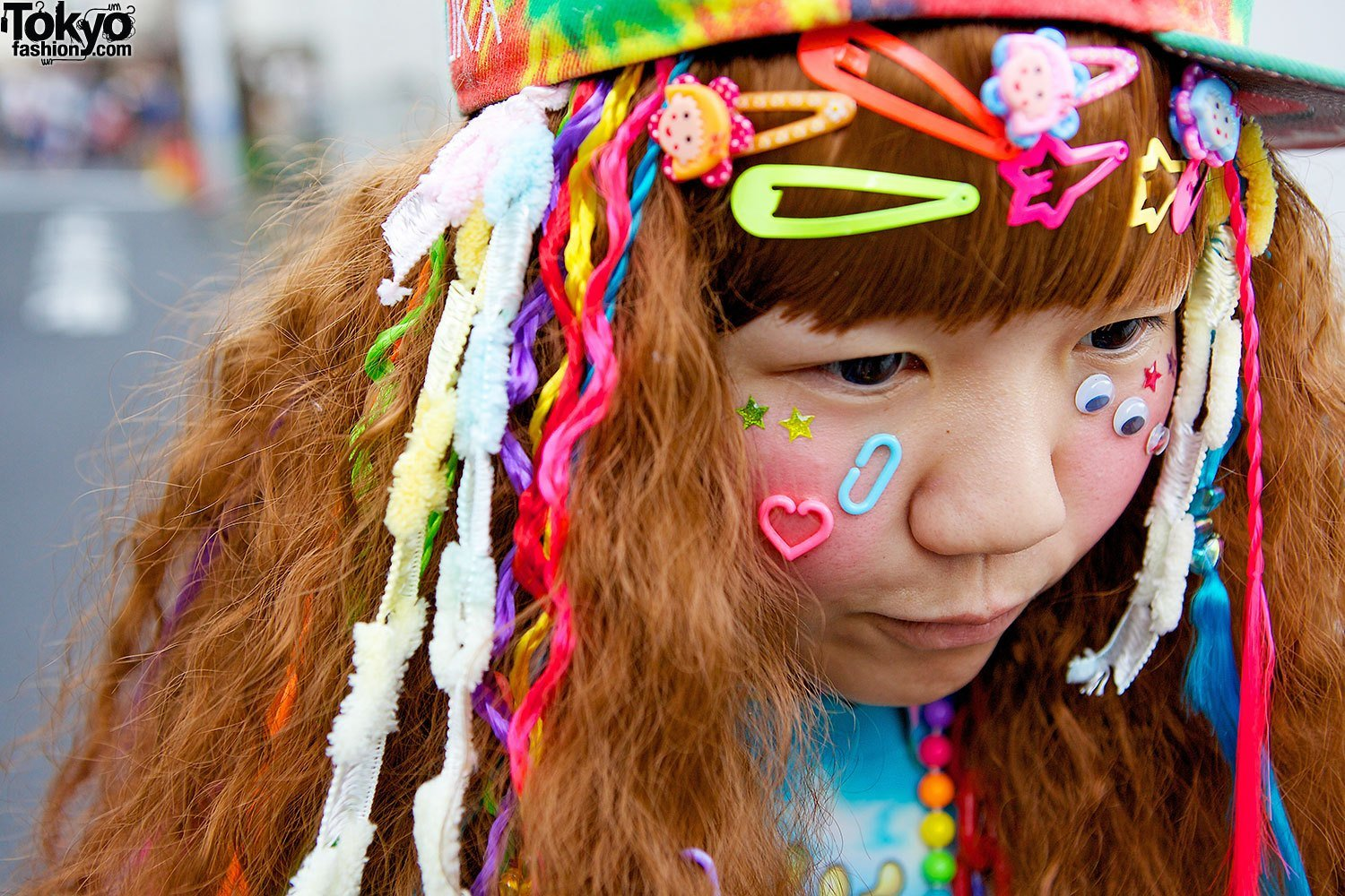 New Colorful Hadeko Fashion W Tie Dye Decora Hair Clips In Ideas With Pictures