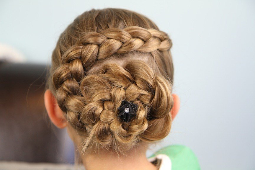 New Dutch Flower Braid Updo Hairstyles Cute Girls Hairstyles Ideas With Pictures