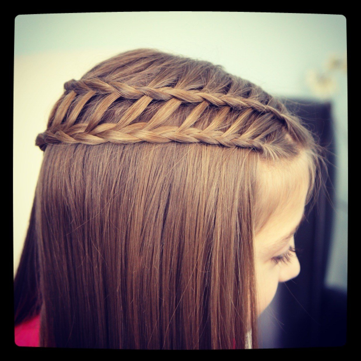 New Feather Waterfall Ladder Braid Combo 2 In 1 Hairstyles Cute Girls Hairstyles Ideas With Pictures