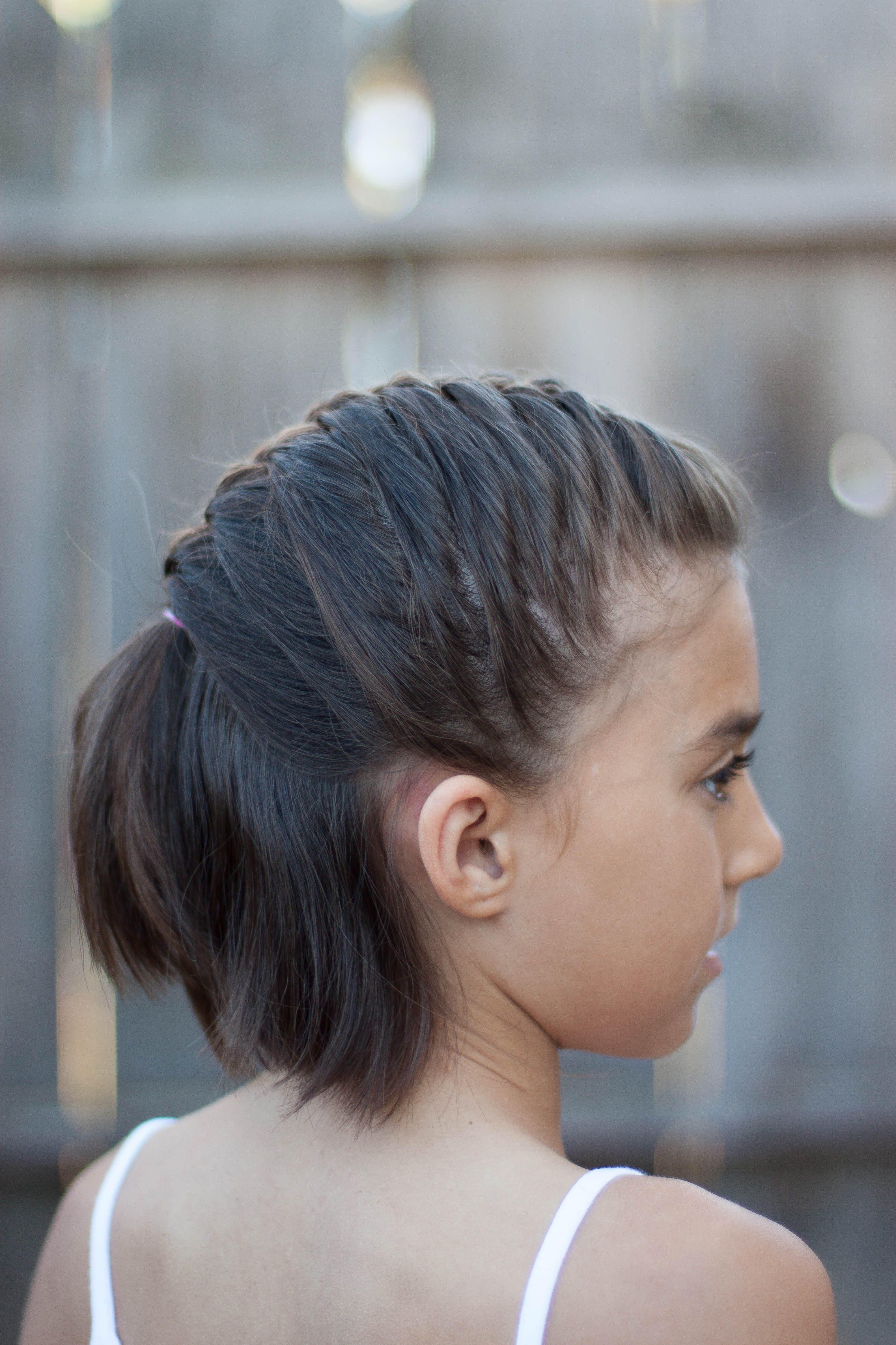 New 5 Braids For Short Hair Cute Girls Hairstyles Ideas With Pictures