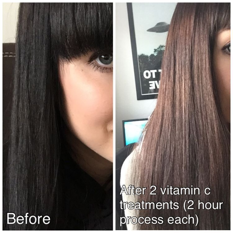 New Vitamin C Hair Color Remover Reviews Photos Makeupalley Ideas With Pictures