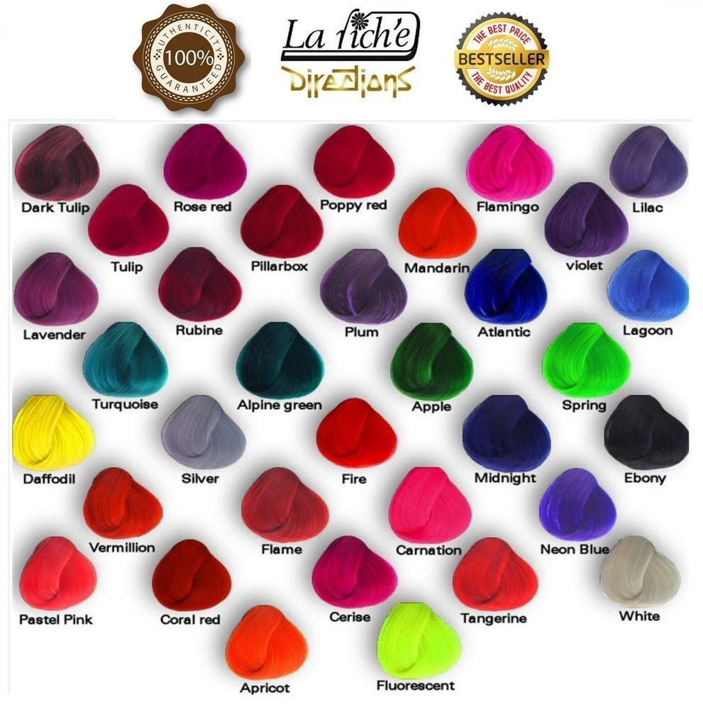 New Original La Riche Directions Hair Dye Color All Colours Ideas With Pictures
