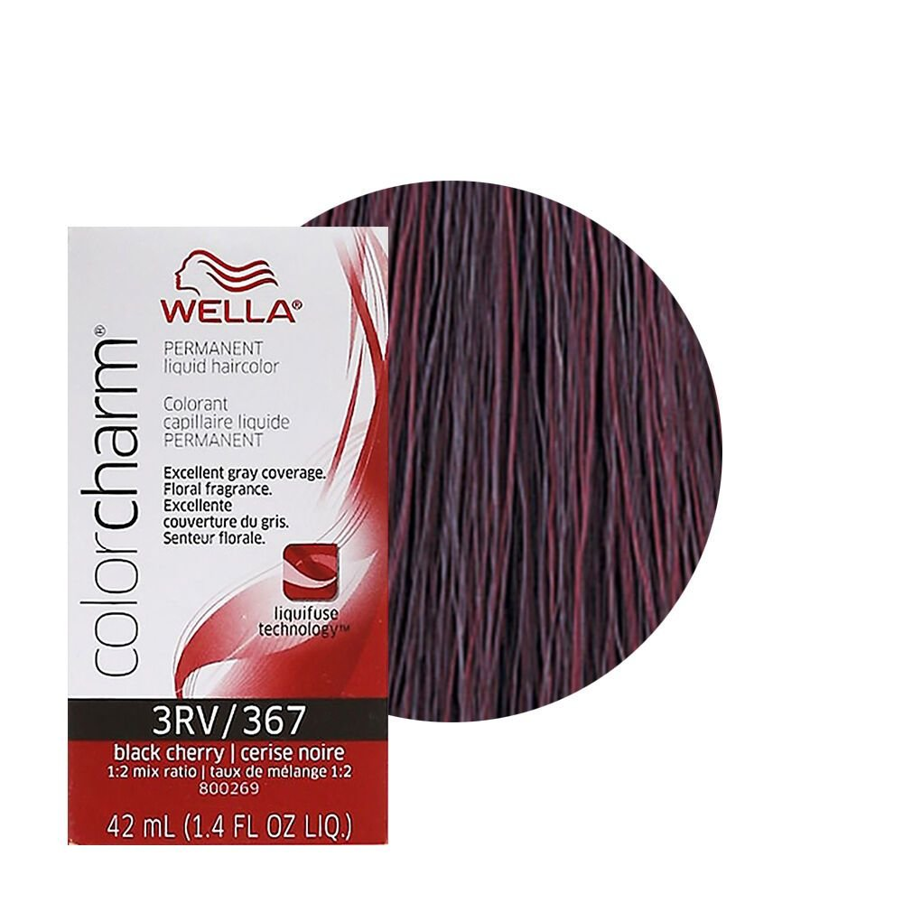 New Wella Color Charm Permament Liquid Hair Color 42Ml Black Ideas With Pictures
