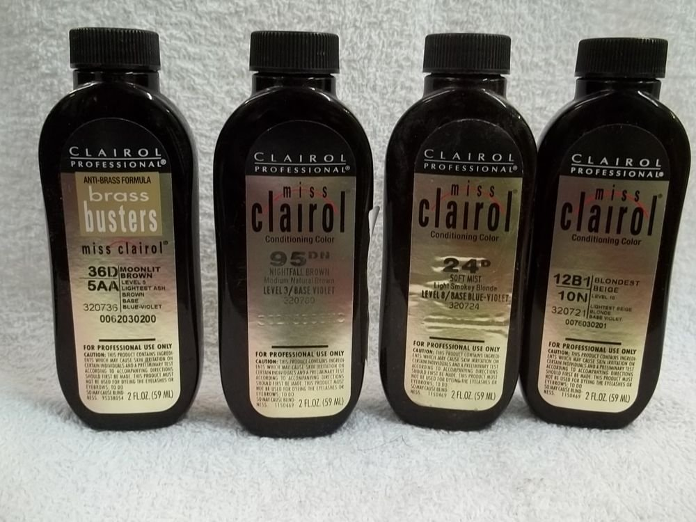 New Miss Clairol Professional Conditioning Liquid Hair Color Ideas With Pictures