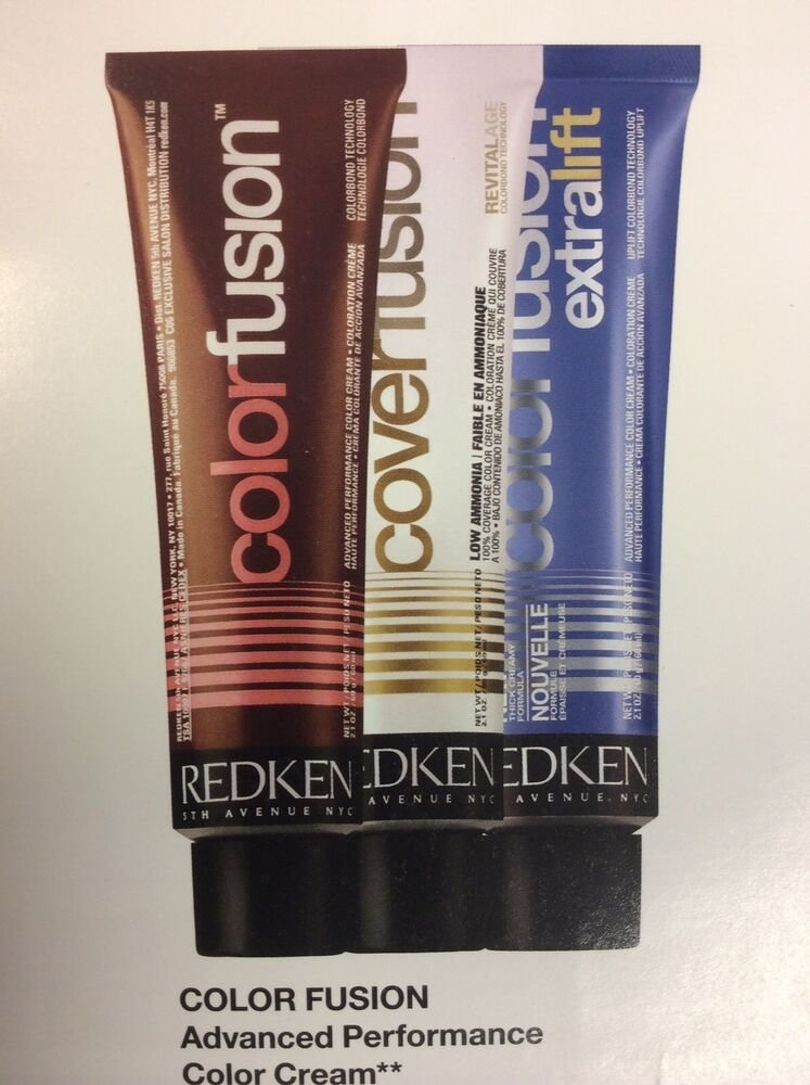 New Redken Professional Fusion Cream Color 2 Oz Of 20Vol Ideas With Pictures