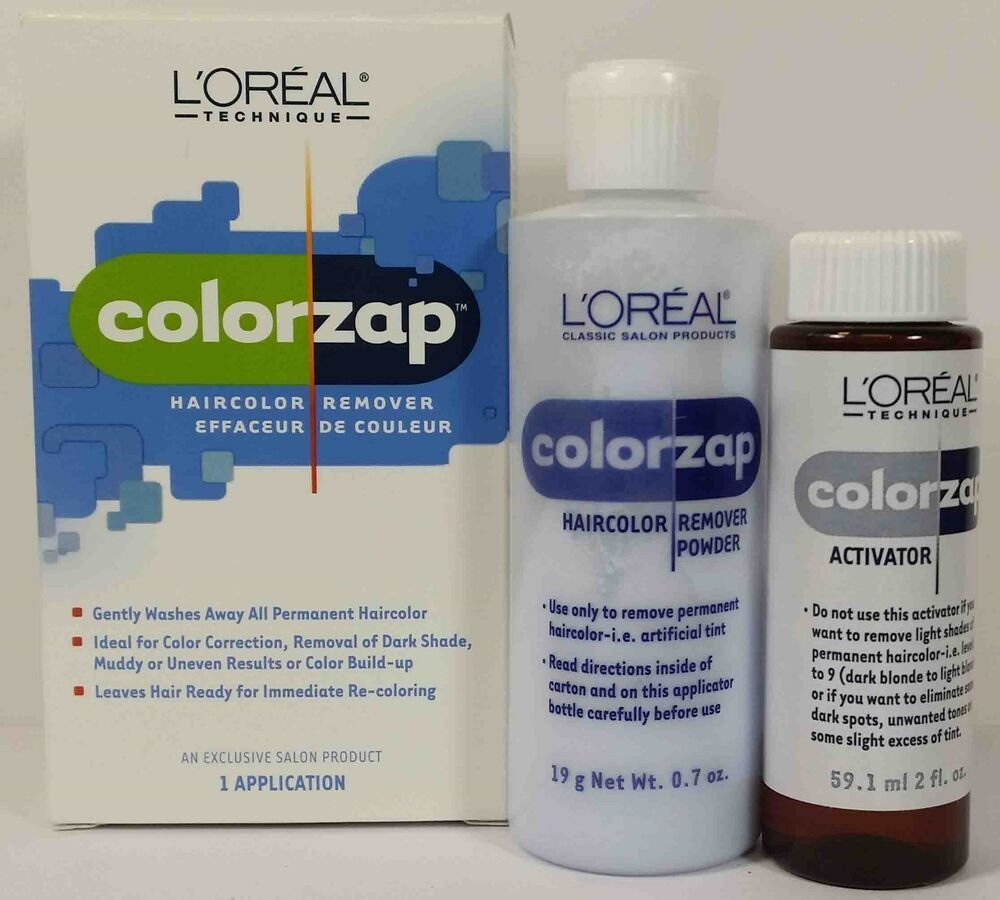 New Loreal Colorzap Permanent Hair Color Remover Correction Ideas With Pictures