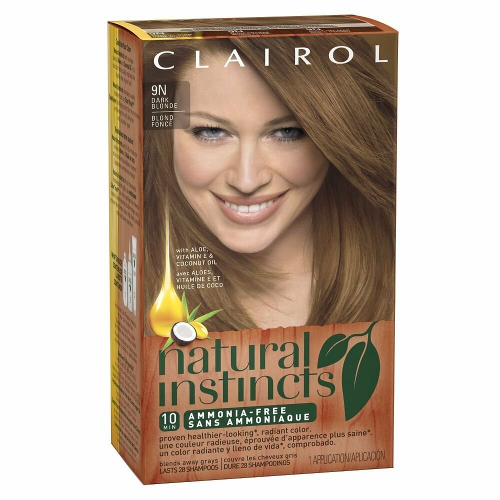 New Clairol Natural Instincts 9N Coastal Dune Dark Blonde Ideas With Pictures