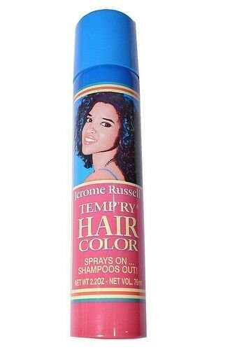New Jerome Russell Temp Ry Temporary Hair Color Spray 2 2 Oz Ideas With Pictures