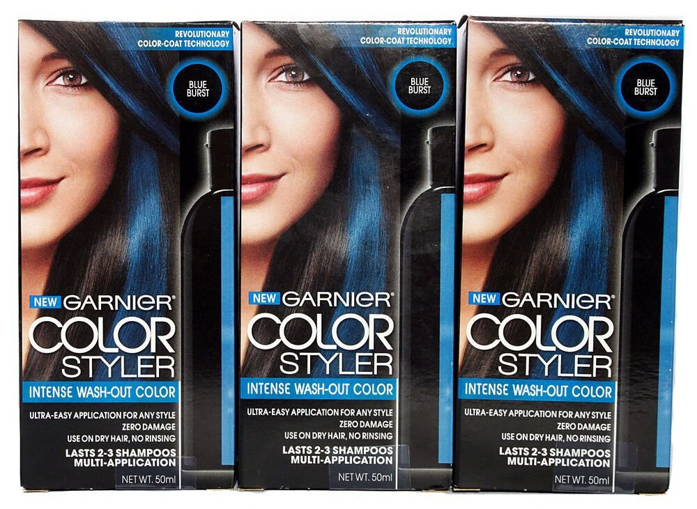 New Garnier Color Styler Intense Wash Out Temporary Hair Color Ideas With Pictures
