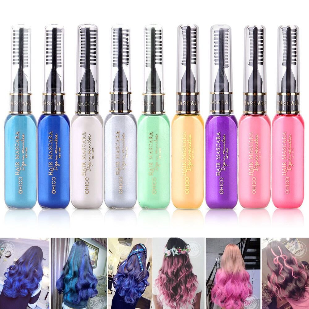 New Diy Temporary Disposable Hair Styling Special Color Cream Ideas With Pictures