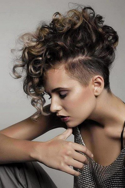 New Mohawk Hairstyles For Women Yve Style Com Ideas With Pictures