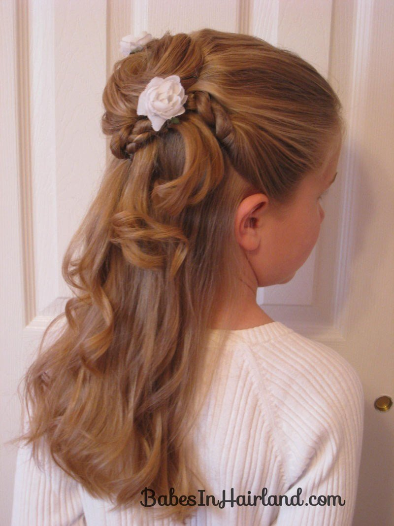 New Twisted Flower Girl Hairstyle B*B*S In Hairland Ideas With Pictures