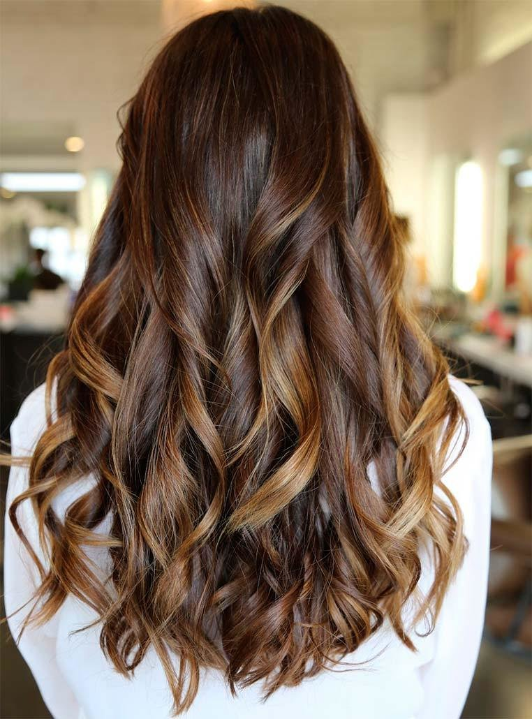New 27 Dark Brown Hair With Highlights To Inspire You Feed Ideas With Pictures
