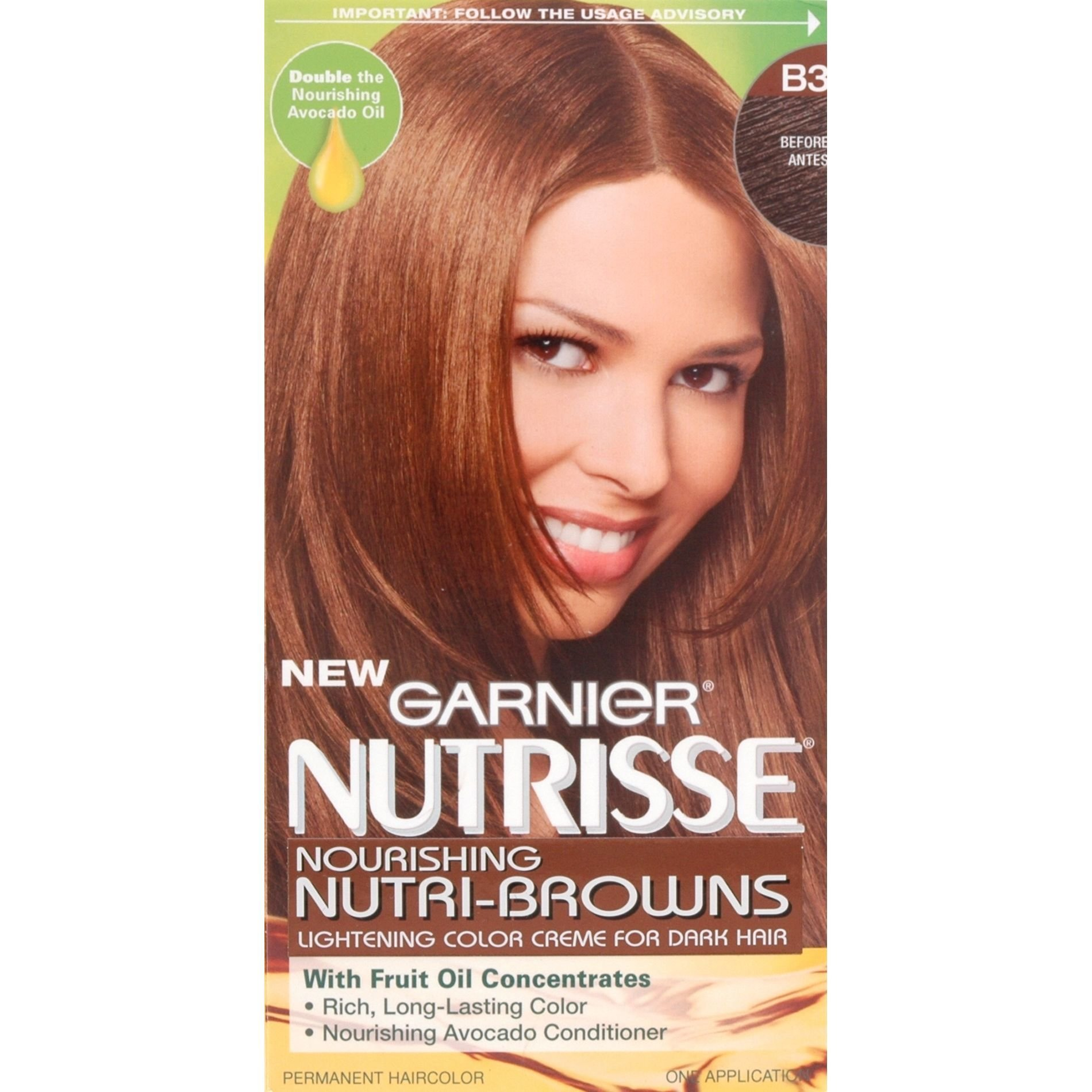 New Garnier Nutrisse Nutri Browns Permanent Hair Color 1 Kit Ideas With Pictures