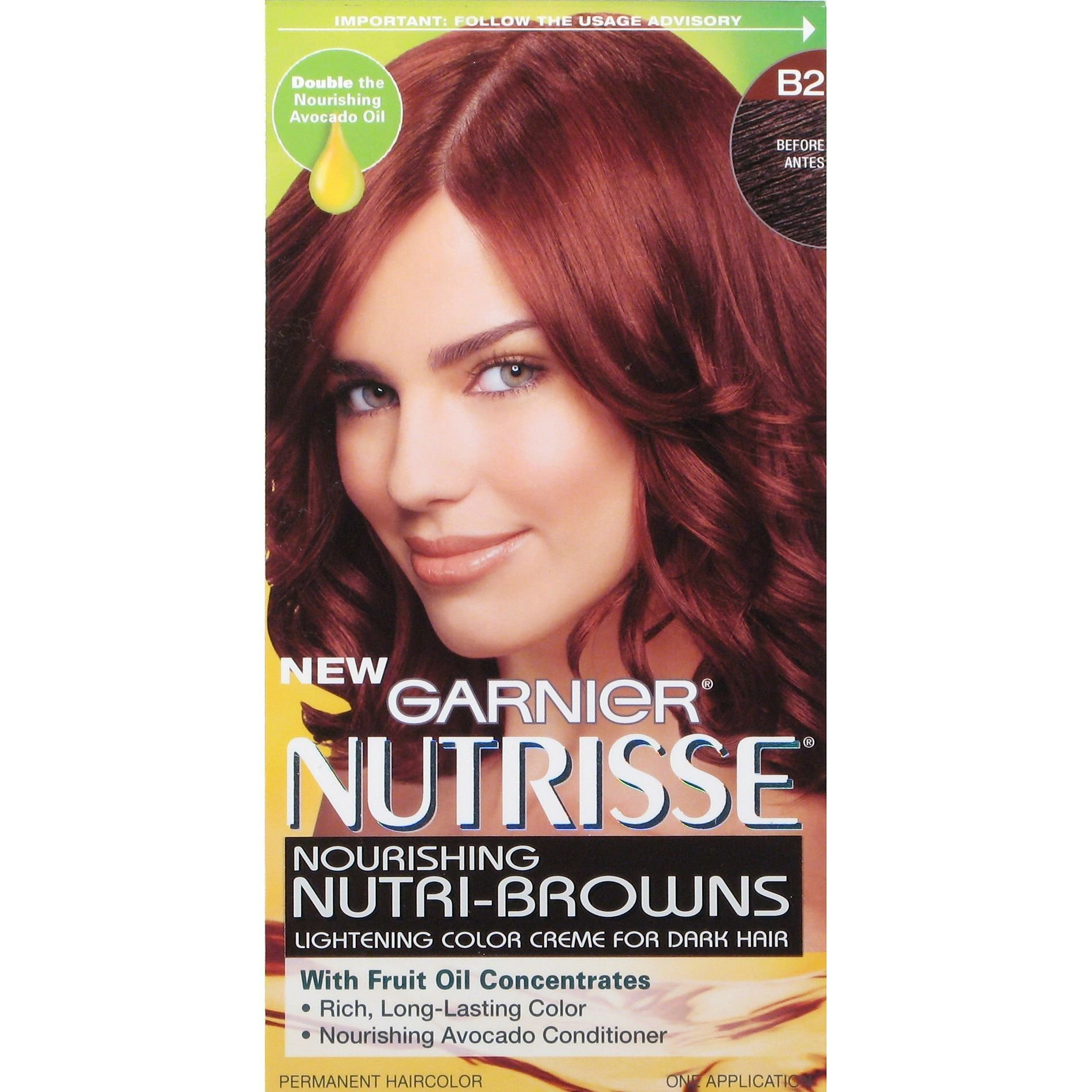 New Garnier Permanent Haircolor 1 Application Beauty Hair Ideas With Pictures