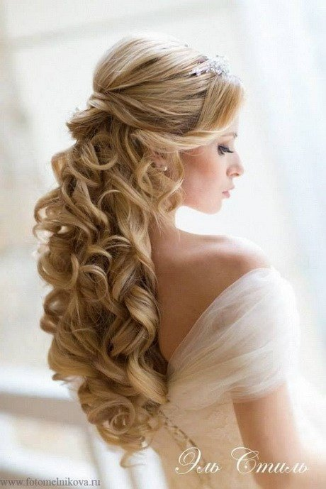 New Down Curly Wedding Hairstyles Ideas With Pictures