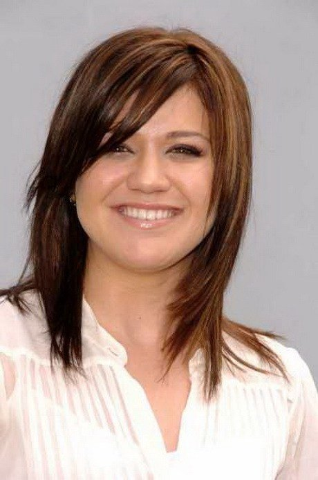 New Medium Length Haircuts With Side Bangs Ideas With Pictures