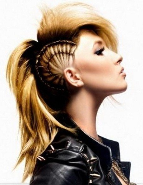 New Semi Shaved Hairstyles For Women Ideas With Pictures