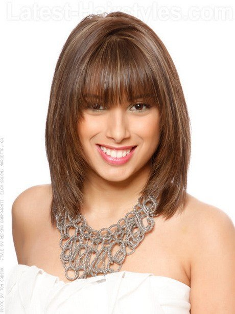 New Latest Mid Length Haircuts Ideas With Pictures