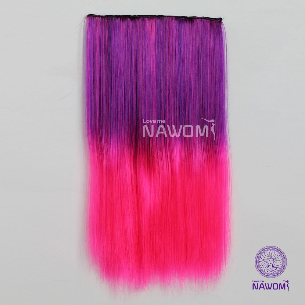 New Free Shipping Cheap Colored Hair Pieces With 5 Clips Ideas With Pictures