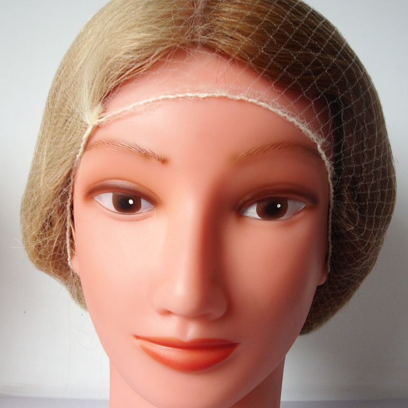 New Invisible Hair Nets Disposable Hairnet 20Inch Blonde Color Ideas With Pictures